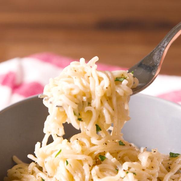 parmesan garlic ramen