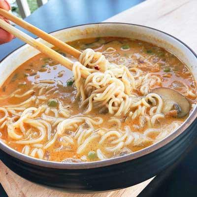 Spicy Curry Vegan Ramen