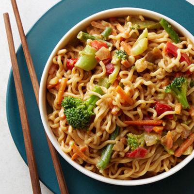 veggie pad thai ramen